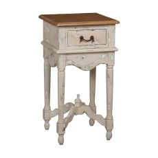 Legacy Side Table, Cream