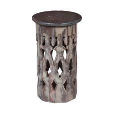 Artifacts Accent Table, Taupe
