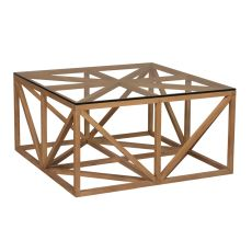 Axes Coffee Table, Blonde
