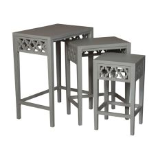 Manor Nesting Tables, Gray