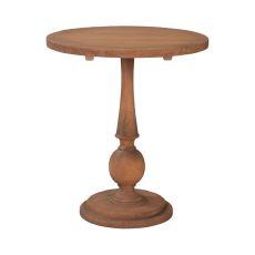 Loft Spindle Table, Honey Oak