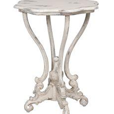Dijon Side Table, White