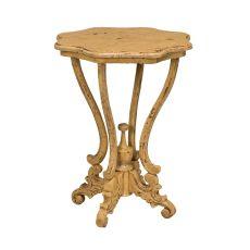 Dijon Side Table, Yellow