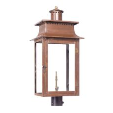 Maryville Outdoor Gas Post Lantern In Aged Copper