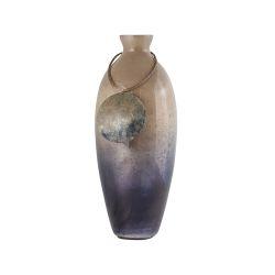 Vase Cuzco 16-Inch Glass Vase In Fire Clay