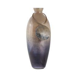 Vase Cuzco 18-Inch Glass Vase In Fire Clay