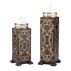 Set Of 2 Gatsby Candleholders