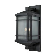 Lowell 1 Light Outdoor Sconce In Matte Black