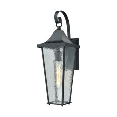 Vinton 1 Light Outdoor Wall Sconce In Matte Black