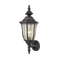 Bennet 1 Light Outdoor Wall Sconce In Graphite Black
