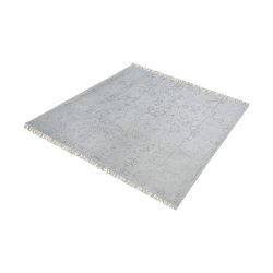 Belleville Handknotted Wool And Bamboo Viscose Rug - 16-Inch Square