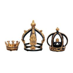 Set Of 3 Crowns