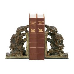 Pair of  Turtle Tower Bookends