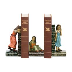 Pair Of  Child Games Bookends