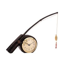 Rod 'N Reed Fishing Display Clock