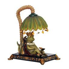 Sleeping King Frog Mini Lamp