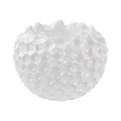 Vivo Coral Texture Vessel In White