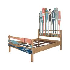 Marina Queen Bed, Artisan Stain