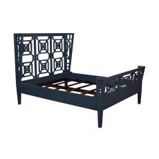 Manor Queen Bed, Blue
