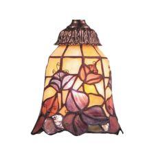 Mix-N-Match 1 Light Floral Glass Shade