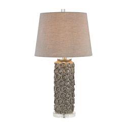 Rosette Table Lamp