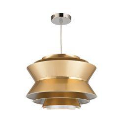 Godnik 1 Light Pendant In Gold