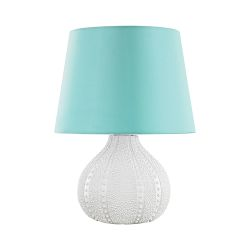 Aruba Outdoor Table Lamp With Sea Green Shade