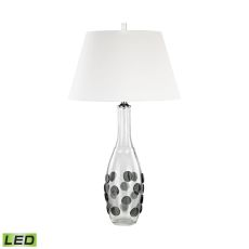 Confiserie Led Table Lamp In Grey