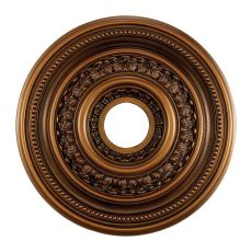 English Study 18-Inch Medallion In Antique Bronze