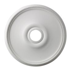 Brittany 19-Inch Medallion In White