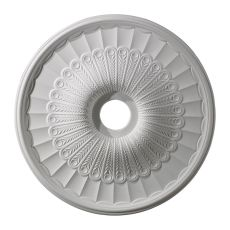 Hillspire 24-Inch Medallion In White