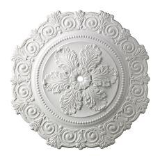 Marietta 33-Inch Medallion In White