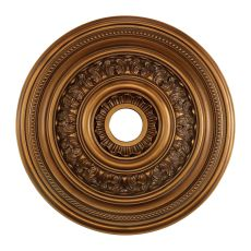 English Study 24-Inch Medallion In Antique Bronze