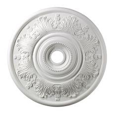 Laureldale 30-Inch Medallion In White