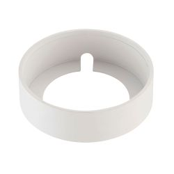Maggie Surface Mount Collar In White