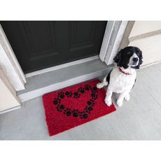 Heart and Soles Handwoven Coconut Fiber Doormat