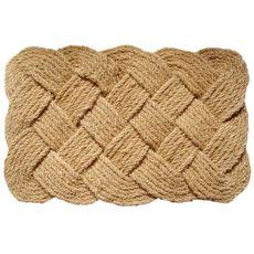 Knot-ical 24x36 Handwoven Coconut Fiber Doormat