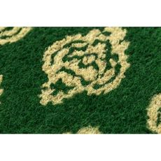 Ikat Damask Handwoven Coconut Fiber Doormat