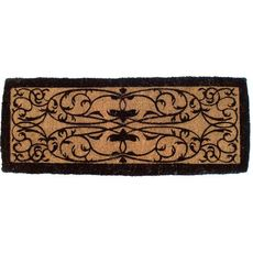 Iron Grate Rectangle 36x72 Extra - Thick Handwoven Coconut Fiber Doormat