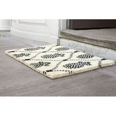 WILLIAMSBURG Pineapple Trellis Handwoven Coconut Fiber Doormat