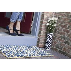 WILLIAMSBURG Parterre Handwoven Coconut Fiber Doormat