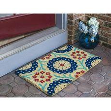 WILLIAMSBURG Monroe Handwoven Coconut Fiber Doormat