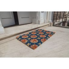 WILLIAMSBURG Purdie Handwoven Coconut Fiber Doormat