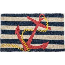 Anchor Handwoven Coconut Fiber Doormat
