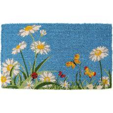 One Summer Day Handwoven Coconut Fiber Doormat