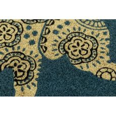 Elephant Coir Doormat with Backing