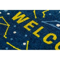 Celestial Coir Doormat with Backing