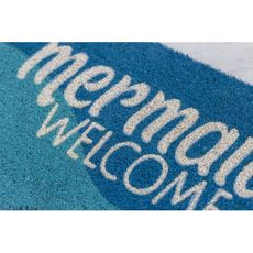 Mermaids Welcome Coir Doormat with Backing