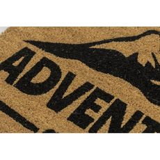 Adventure Awaits Coir Doormat with Backing