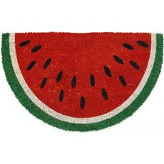 Watermelon Coir Doormat with Backing